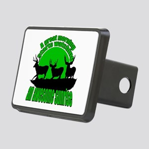 Awesome sunrise 2 Rectangular Hitch Cover