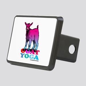 Goat Yoga 2 Rectangular Hitch Cover