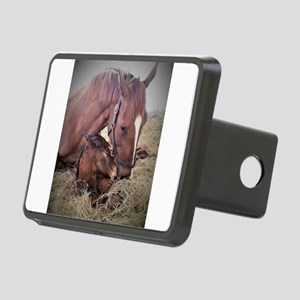 Mare and Foal Rectangular Hitch Cover