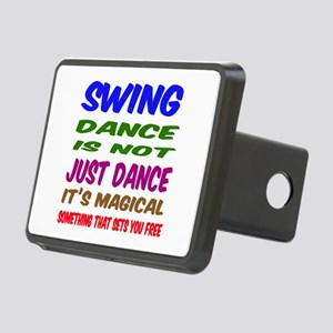 Swing dance is not just da Rectangular Hitch Cover