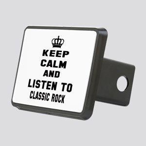 Keep calm and listen to Cl Rectangular Hitch Cover