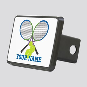 Personalized Tennis Player Hitch Cover