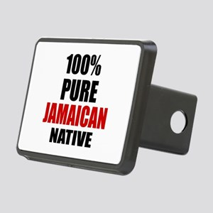 100 % Pure Jamaican Native Rectangular Hitch Cover
