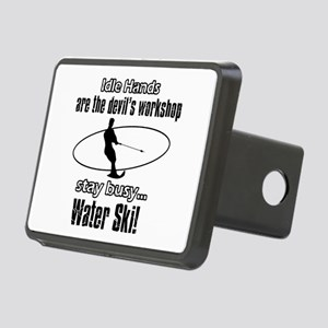 Stay Busy Water Ski Rectangular Hitch Cover
