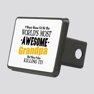 Awesome Grandpa Rectangular Hitch Cover