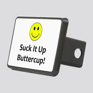 Suck it up buttercup! Rectangular Hitch Cover
