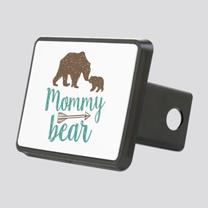 Mommy Bear Rectangular Hitch Cover