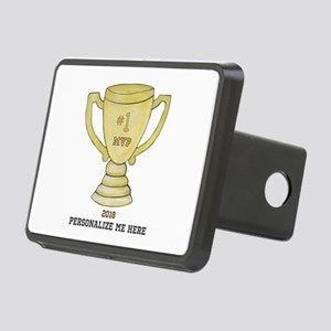 Personalized Trophy Rectangular Hitch Cover
