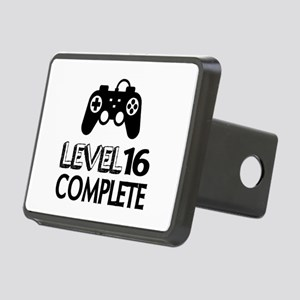 Level 16 Complete Birthday Rectangular Hitch Cover