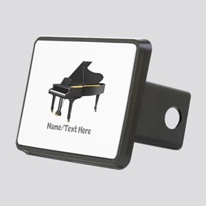 Piano Personalized Rectangular Hitch Cover