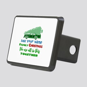 Personalized Griswold Chri Rectangular Hitch Cover