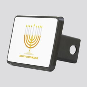 Happy Hanukkah Customized Rectangular Hitch Cover