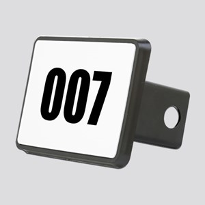 007 Rectangular Hitch Cover