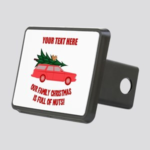 Custom Christmas Vacation Rectangular Hitch Cover