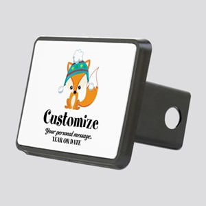 Rounded Square Rectangular Hitch Cover