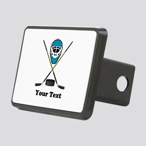 Hockey Goalie Personalized Rectangular Hitch Cover