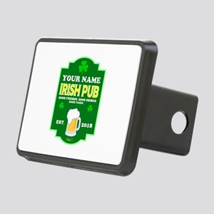 Irish Pub sign Rectangular Hitch Cover