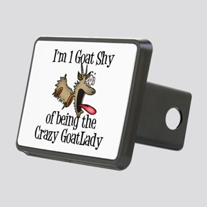 Crazy Goat Lady Rectangular Hitch Cover