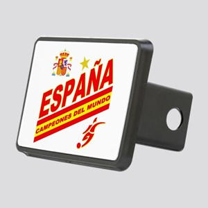 Spain World Cup Soccer Rectangular Hitch Cover