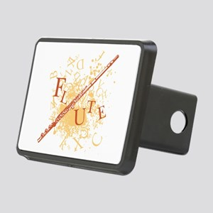 Flute Explosion Rectangular Hitch Cover