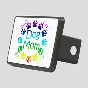 """Dog Mom"" Rectangular Hitch Cover"