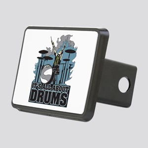 Its All About Drums Rectangular Hitch Cover