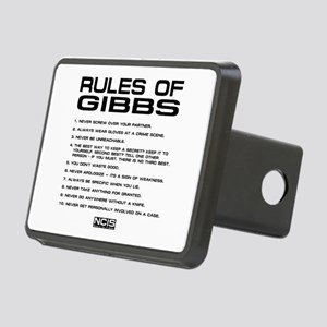 NCIS: Gibbs Rules2 Rectangular Hitch Cover
