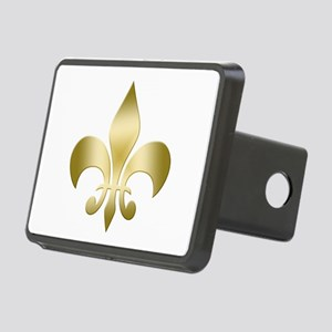 New Orleans Fleur Rectangular Hitch Cover