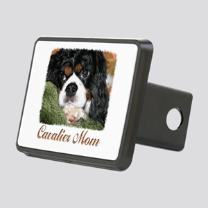 Cavalier Mom Rectangular Hitch Cover