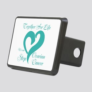 Stop Ovarian Cancer Rectangular Hitch Cover