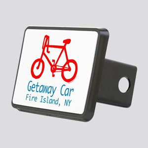 Fire Island Getaway Car Rectangular Hitch Cover