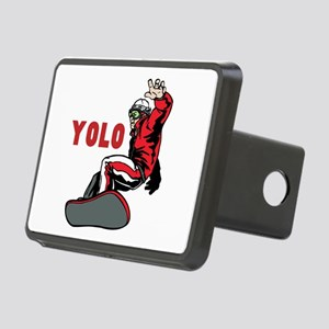 Yolo Snowboarding Rectangular Hitch Cover