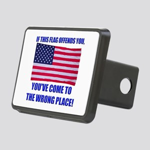 Flag1a Rectangular Hitch Cover