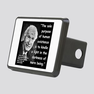 Jung Purpose Quote 2 Rectangular Hitch Cover