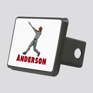 Personalized Baseball Rectangular Hitch Cover