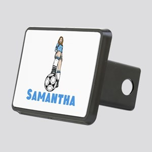 Personalized Soccer Rectangular Hitch Cover