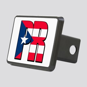 Puerto Rican pride Rectangular Hitch Cover