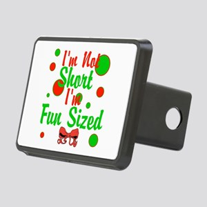 Im Not Short Im Fun Sized Rectangular Hitch Cover