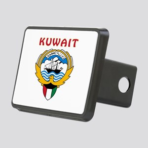 Kuwait Coat of arms Rectangular Hitch Cover