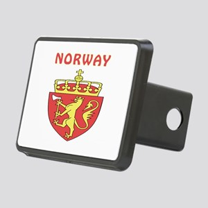 Norway Coat of arms Rectangular Hitch Cover
