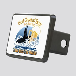 God Created Beer (Submariner) Rectangular Hitch Co
