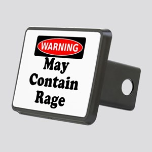 Warning May Contain Rage Hitch Cover
