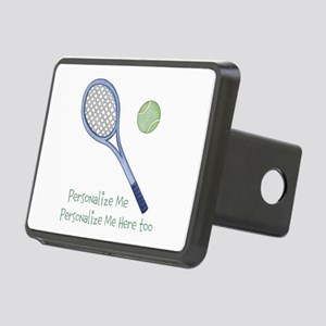 Personalized Tennis Rectangular Hitch Cover
