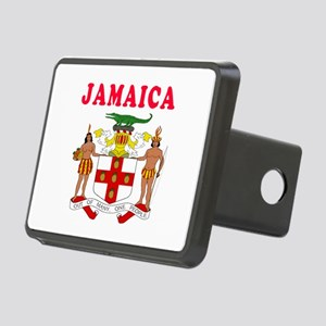 Jamaica Coat Of Arms Designs Rectangular Hitch Cov