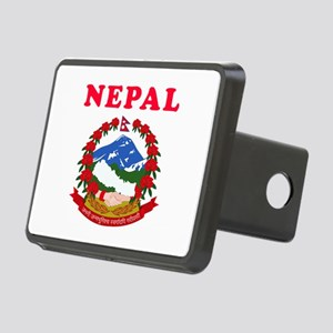 Nepal Coat Of Arms Designs Rectangular Hitch Cover