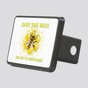 Save The Bees Rectangular Hitch Cover