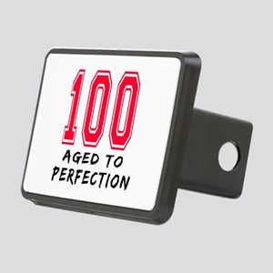 100 Year birthday designs Rectangular Hitch Cover