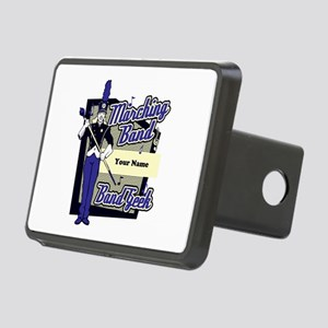 Custom Marching Band Geek(Blue) Rectangular Hitch