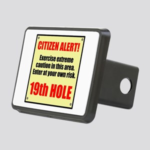 Citizen Alert! 19th Hole Rectangular Hitch Cover