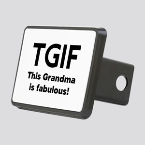 This Grandma Is Fabulous Rectangular Hitch Cover